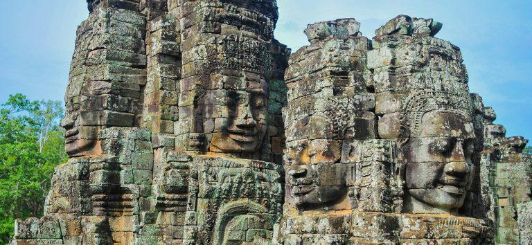 De vier gezichten van Cambodja:
