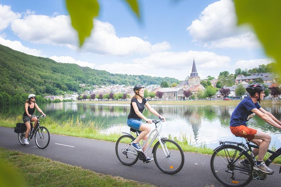 Les Ardennes françaises à vélo, c'est tout autre chose