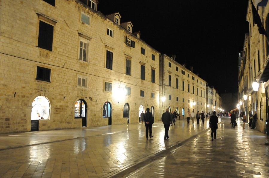 Stradun, de slagader van het oude Dubrovnik