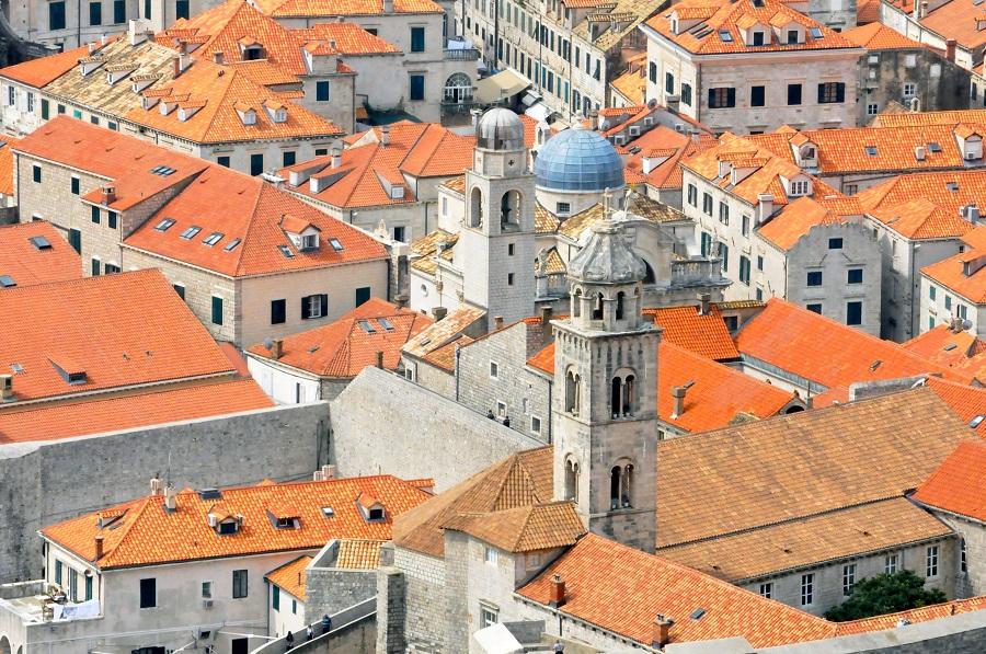 Dubrovnik een zee van rode daken