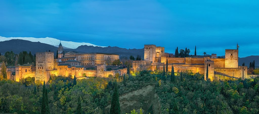 Sevilla, Granada en Cordoba