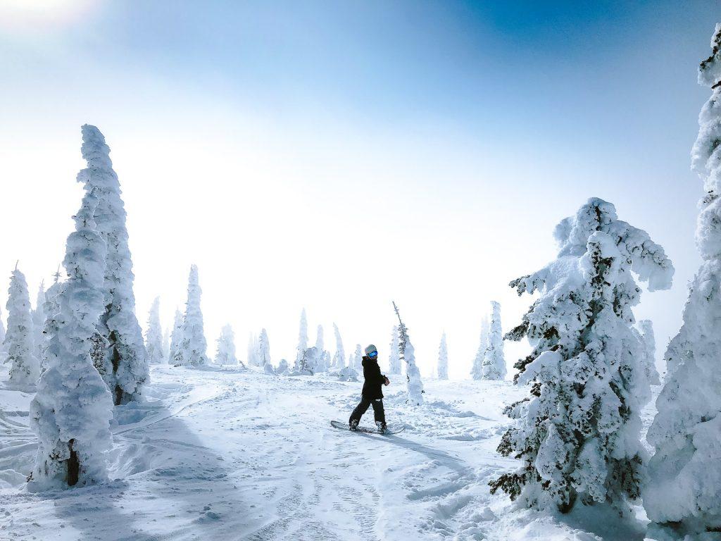 Vous ne devinerez jamais la région considérée comme paradis par les snowboarders !