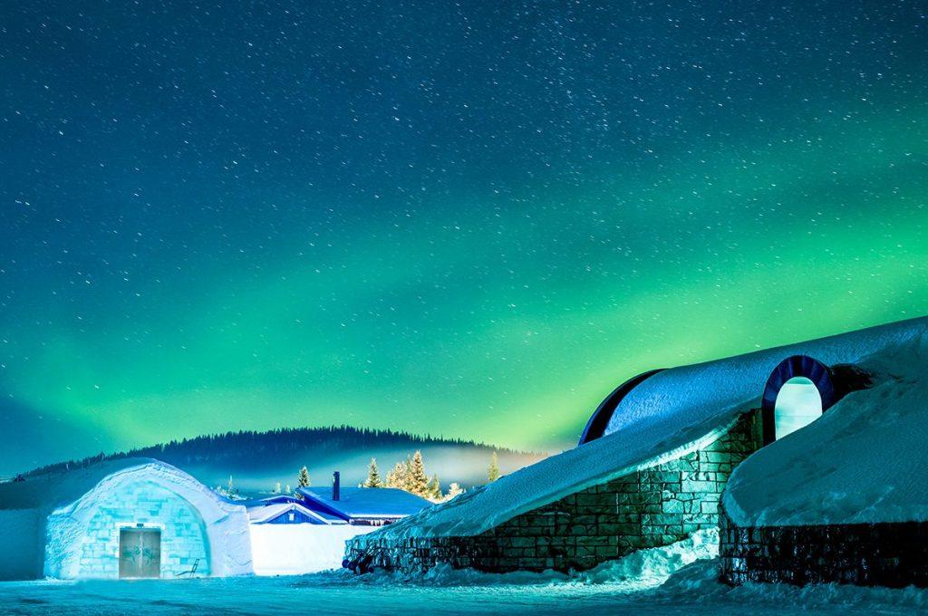 Les 4 hôtels de glace les plus cool au monde !
