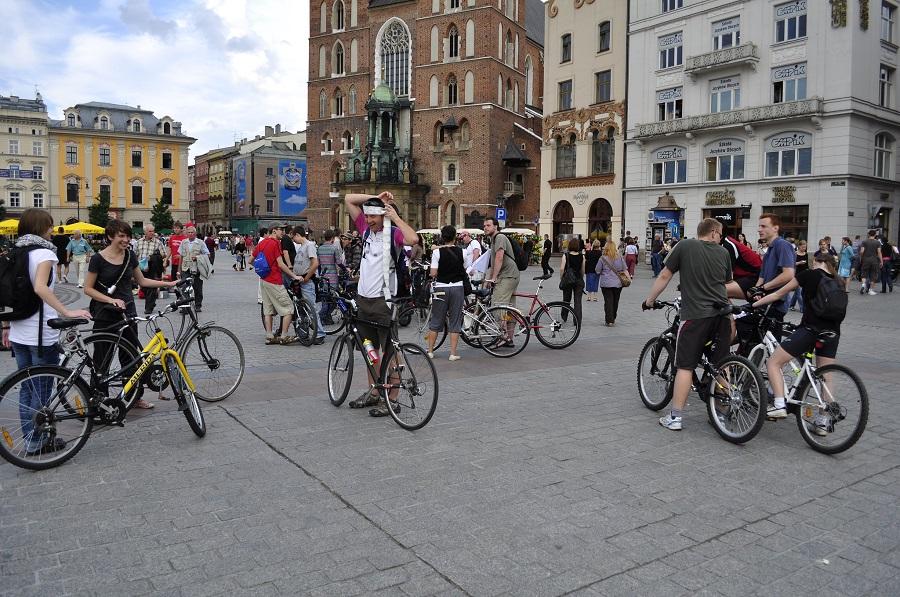Krakau bikers