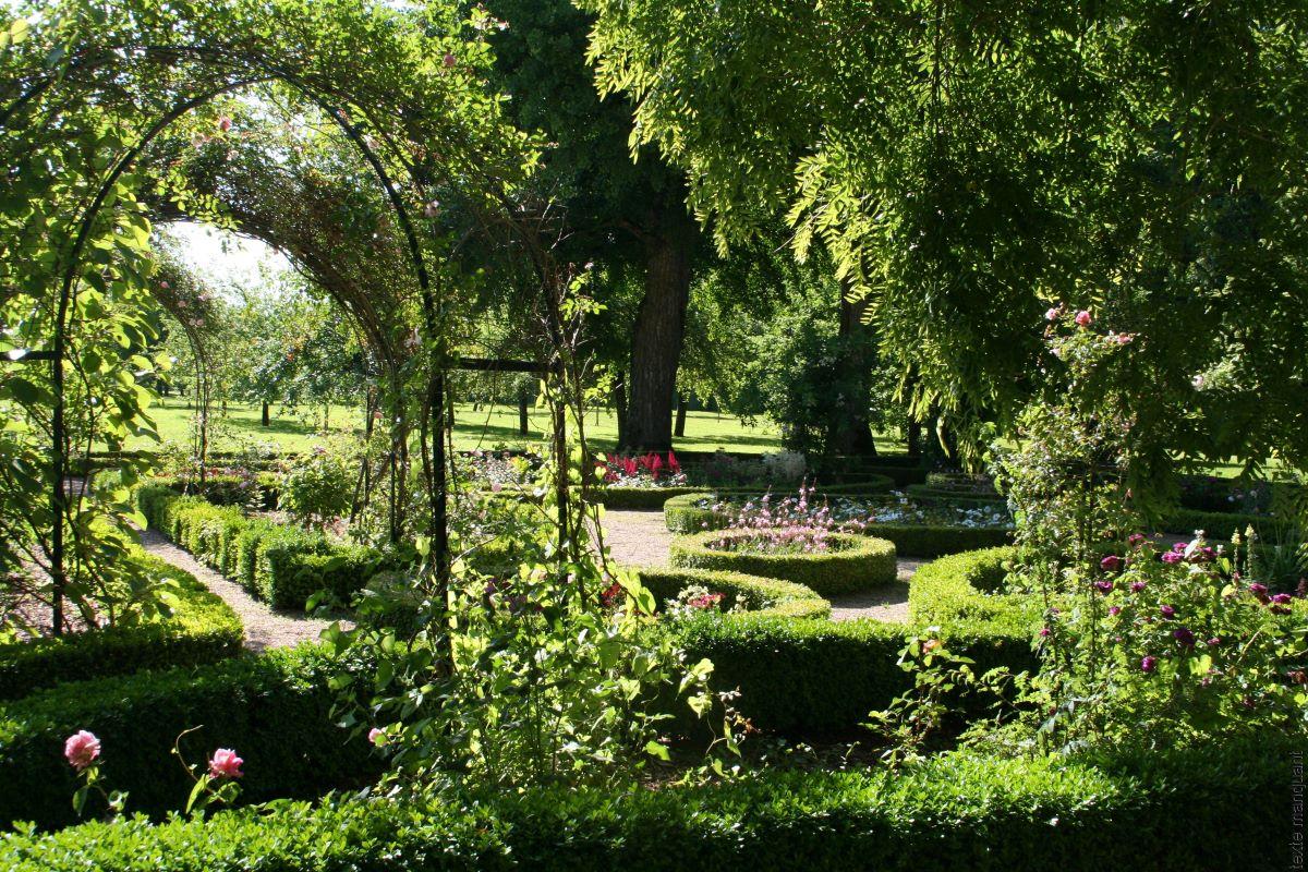 Le jardin de la maison de George Sand