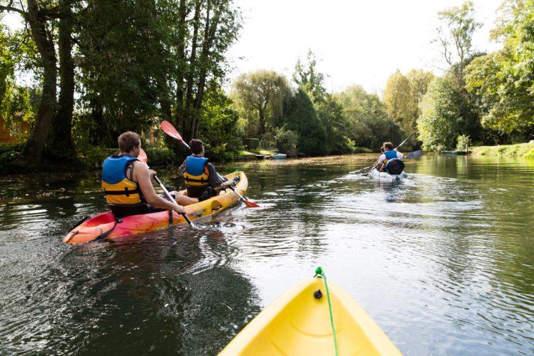 Descente en canoë sur la Loire et guinguettes orléanaises