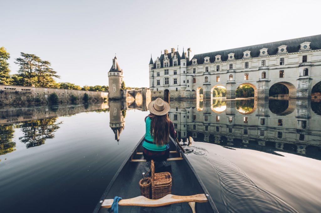 Voguez en canoë le long de la vallée du Cher