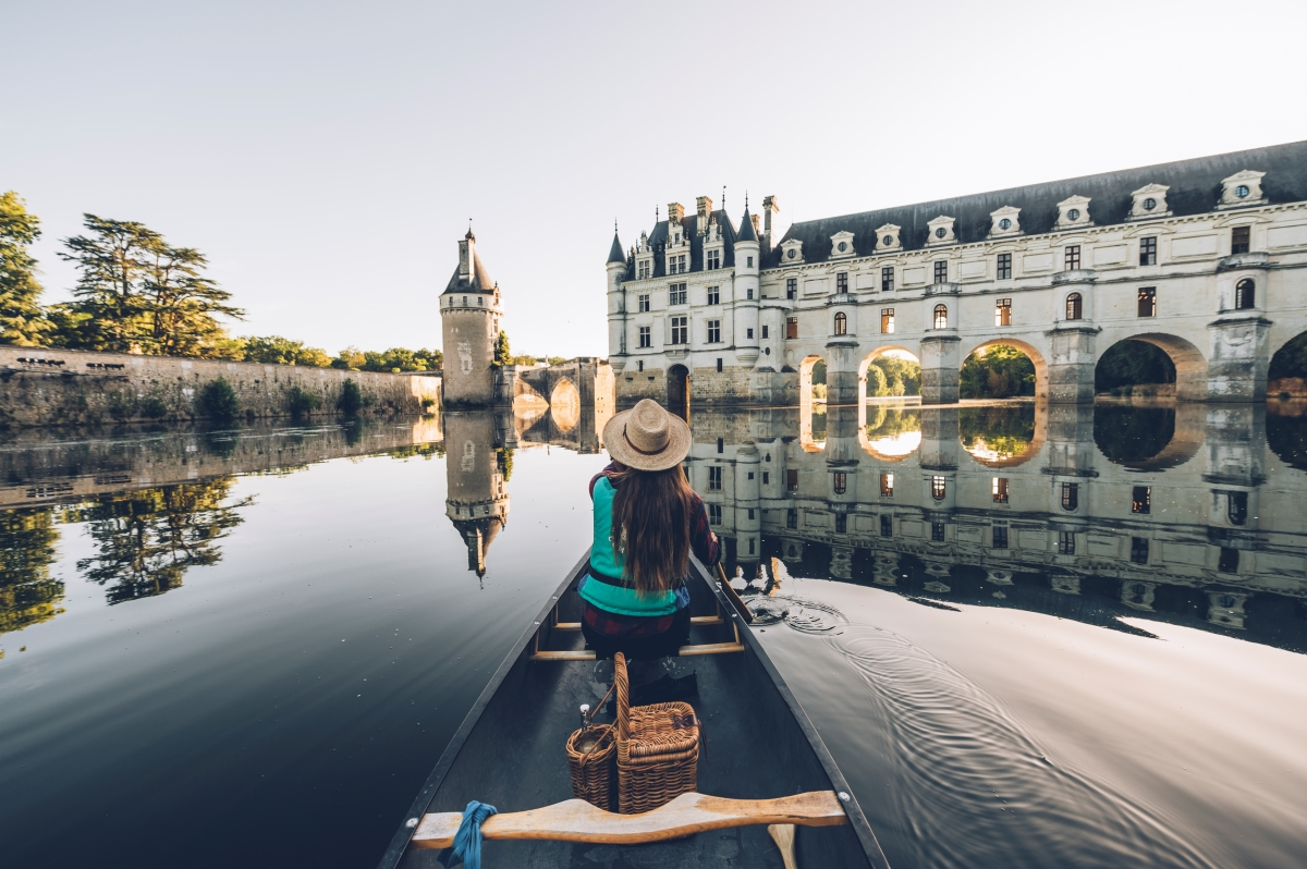 Canoë à Chenonceau