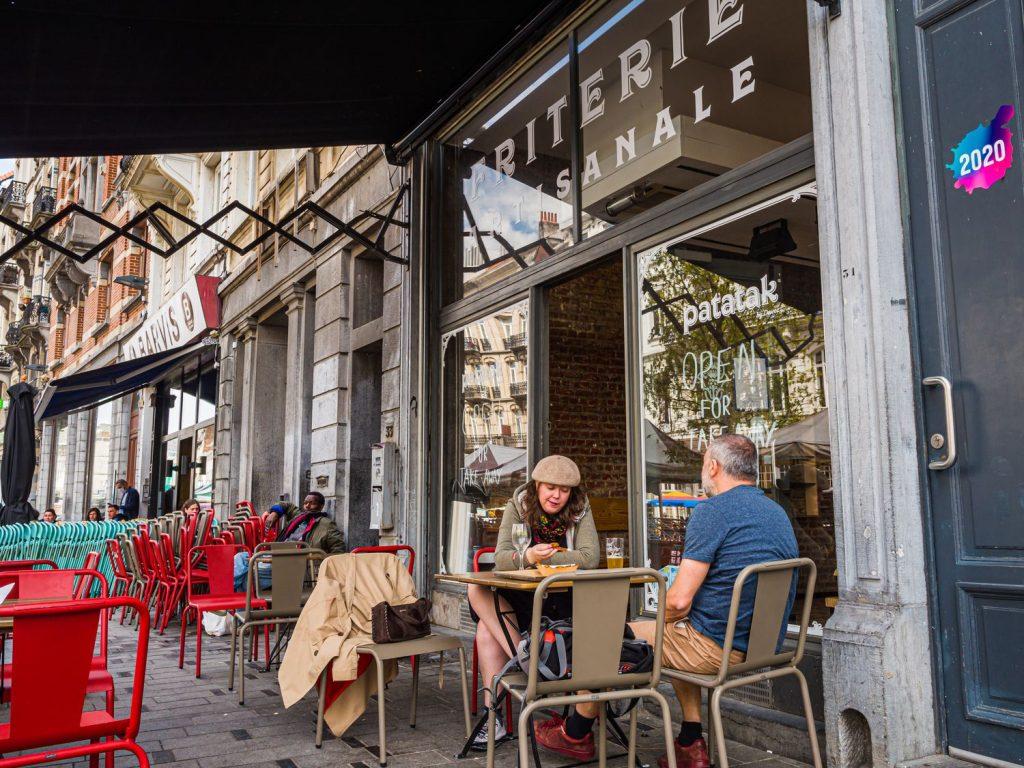 Saint-Gilles et ses belles terrasses