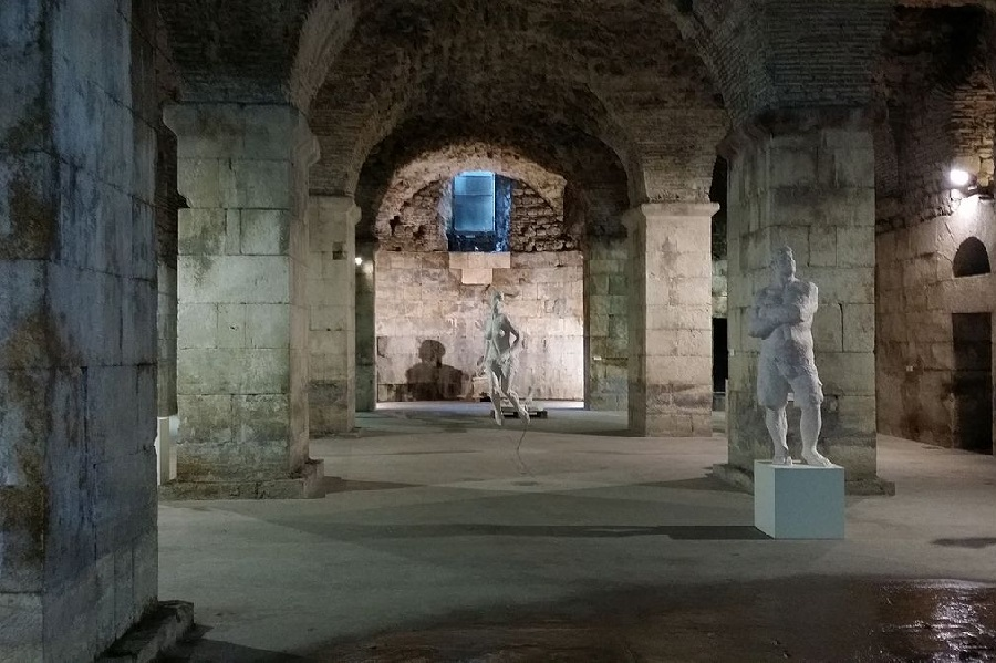 Diocletian's Palace crypt