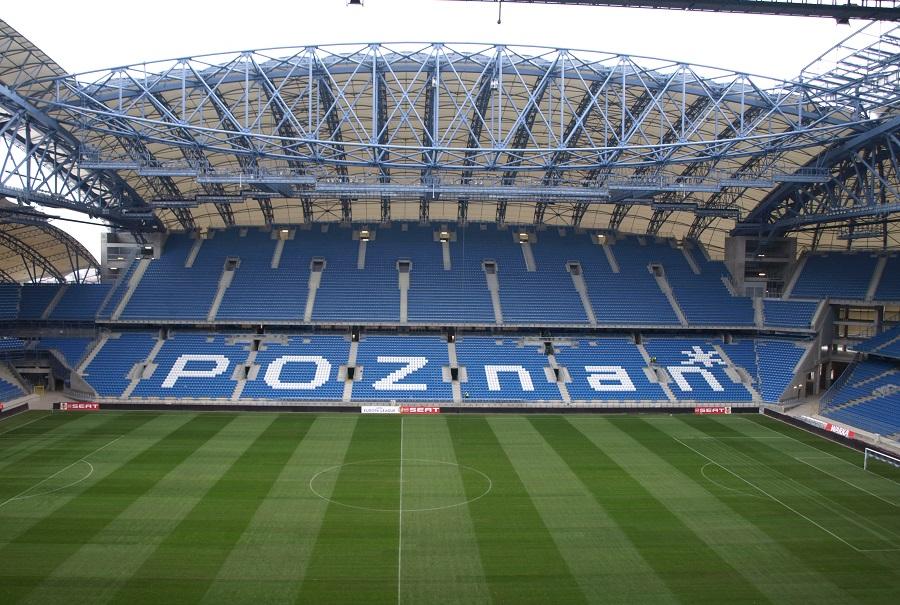 Het Stadion Miejski in Poznań