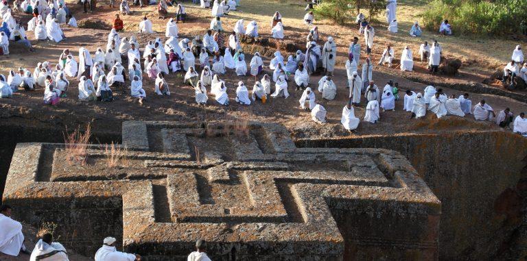 Op ontdekking in Abyssinië in Noord-Ethiopië