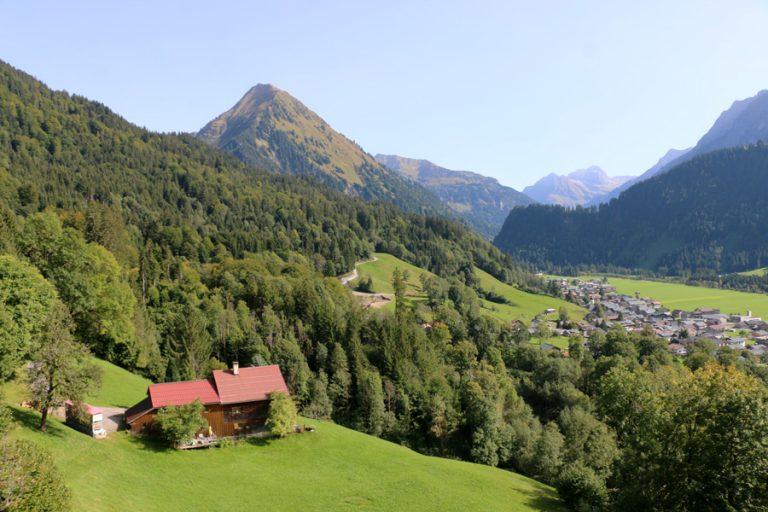 Bregenzerwald, une montagne autrichienne «carte postale»